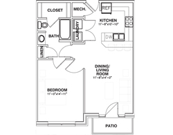 The Landing 1 bed